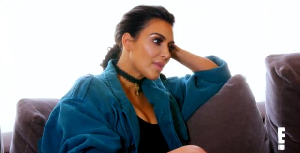 Kim Kardashian on E!'s Keeping Up With The Kardashians