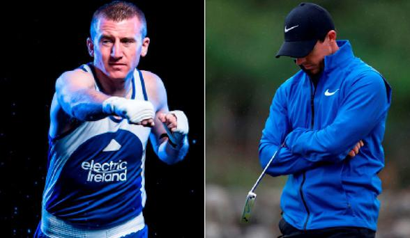 Paddy Barnes has a message for the likes of Rory McIlroy