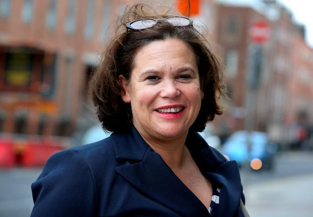 Mary-Lou McDonald. Pic Tom Burke