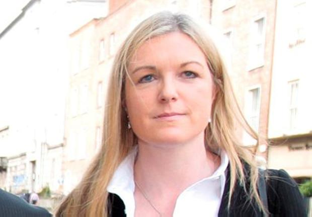 Rosarii Mannion, National Director HR, HSE arrives for the PAC hearing. Pic Tom Burke
