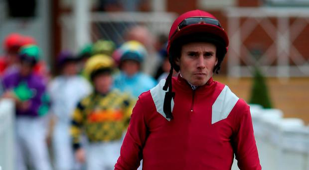 Ryan Moore will partner Even Song in the Irish Oaks tomorrow. Photo: Alan Crowhurst/Getty Images