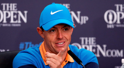Rory McIlroy has learned the price of telling the truth. Photo: Danny Lawson/PA Wire