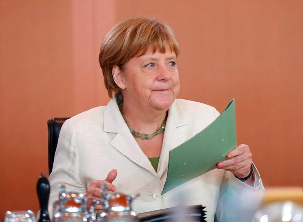 German Chancellor Angela Merkel. Photo: Hannibal Hanschke/Reuters