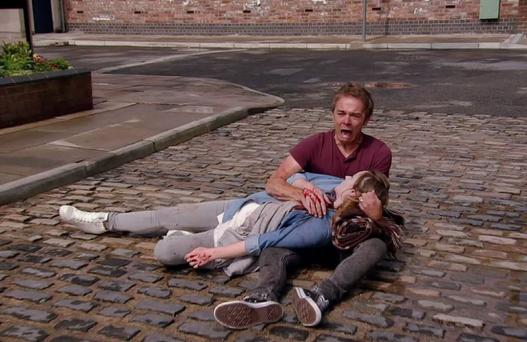 Kylie met her end on last night's Coronation Street
