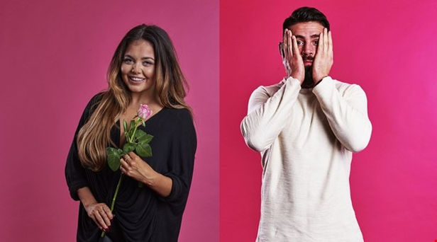 Scarlett Moffatt and Tommy on Celebrity First Dates