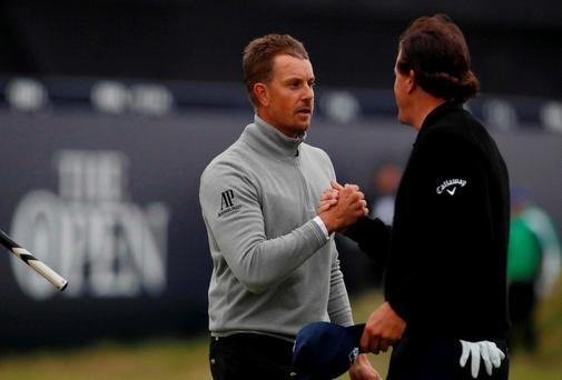 Henrik Stenson holds his nerve to win first major at The Open