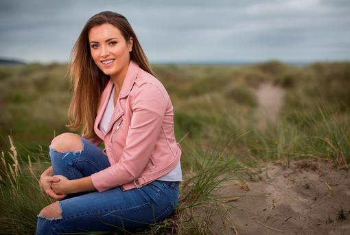 Having Terry Keane as a grandparent made a big impact on top model Holly Carpenter as she started to pursue her own career. Photo: Fergal Phillips.