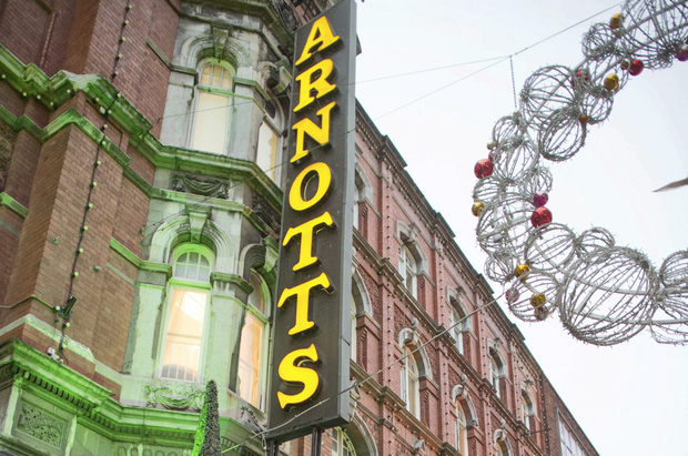 While the proposed division of the premises would see Arnotts' physical footprint being reduced, the Henry Street store would still retain its position as Ireland's largest and only full-line department store, with 250,000 sq. ft of retail space. Photo: Michael Chester