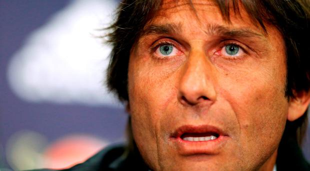 New Chelsea manager Antonio Conte: 'If I don't get respect, you are asking for trouble, for problems'. Photo: Steve Paston