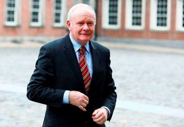 Northern Ireland Deputy First Minister Martin McGuinness. Photo: PA