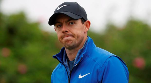'As they dropped out with a certain inevitability, you could get the impression that they were driven less by anxiety about the Zika virus, than the anxiety about their status in that seven-star cocoon - that when Rory made his statement, the rest felt obliged to follow him lest they be regarded as anything other than top players, these one-man corporations who are constantly measuring the size of their vital attributes against those of their nearest competitors.' REUTERS/Craig Brough