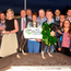 Irish Independent marketing and promotions manager Arlene Regan (second left) pictured with trainer Gerry Holland and owner Anne O'Connor after Skywalker Manner's victory in the Laurels