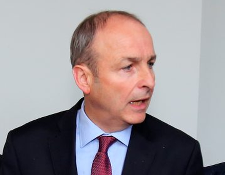 Micheál Martin: hit out at media for predicting Fianna Fáil demise Picture: Tom Burke
