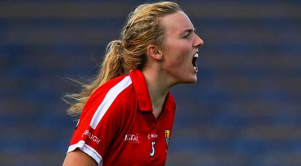 Captain Laura Cleary led by example with a haul of 1-2 as Cork edged past Galway on their way to the All-Ireland minor A ladies football final. Picture credit: Eoin Noonan / SPORTSFILE