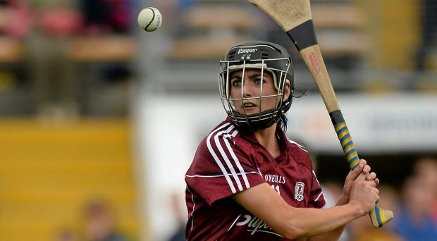 Niamh McGrath in action for Galway. Picture credit: Sam Barnes / SPORTSFILE