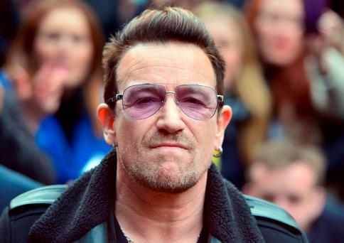 Bono was reportedly caught up in the lorry attack in Nice, where he was dining in a restaurant Photo: Anthony Devlin/PA Wire