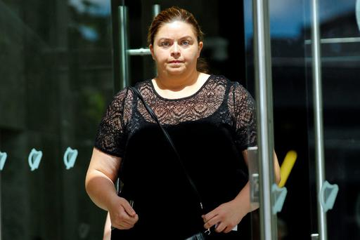Laura Pennick (29) who appeared in Dublin Circuit Criminal Court yesterday. Photo: Collins Courts