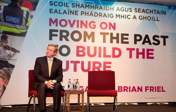 Taoiseach Enda Kenny at the MacGill Summer School in Glenties. Photo: North West Newspix