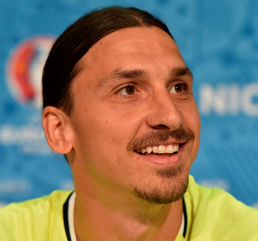 Zlatan Ibrahimovic: Raring to go Photo: Handout/UEFA via Getty Images