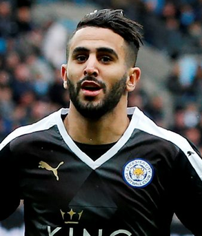 Leicester City are confident that Riyad Mahrez will stay at the club Photo: ADRIAN DENNIS/AFP/Getty Images