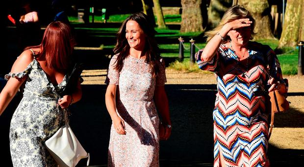 Pippa Middleton attending the Frost Summer Party Fundraiser, in aid of the Miles Frost Fund and in partnership with the British Heart Foundation, at Burton Court, in London