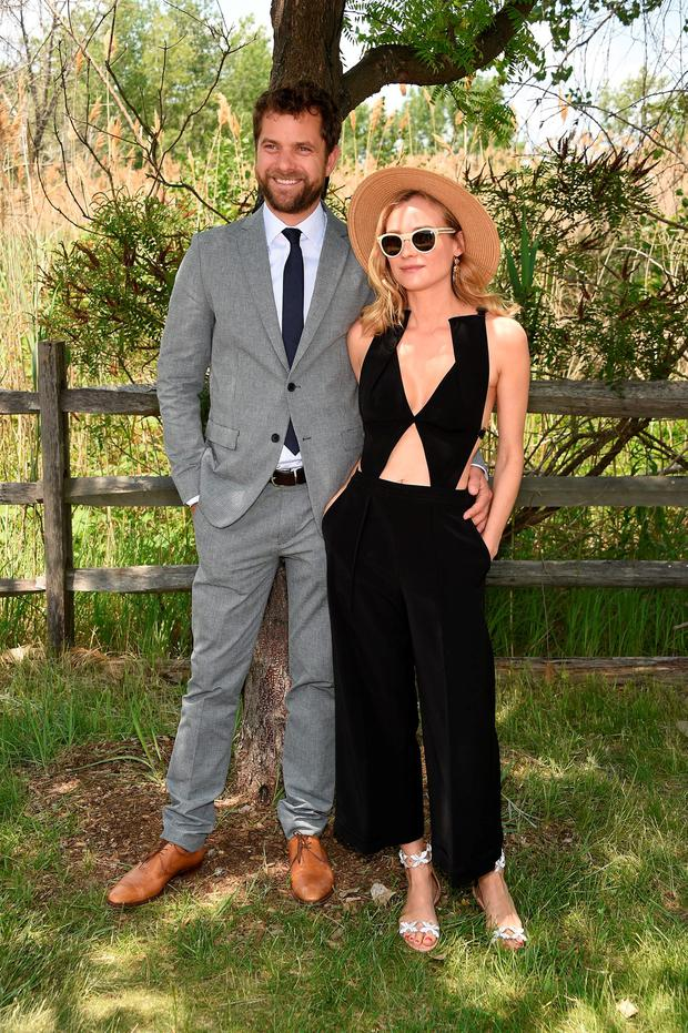 Joshua Jackson and Diane Kruger attend the Eighth-Annual Veuve Clicquot Polo Classic at Liberty State Park on May 30, 2015 in Jersey City, New Jersey. (Photo by Dimitrios Kambouris/Getty Images for Veuve Clicquot)