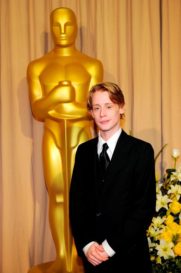 Actor Macaulay Culkin arrives backstage at the 82nd Annual Academy Awards held at Kodak Theatre on March 7, 2010 in Hollywood, California. (Photo by Kevork Djansezian/Getty Images)