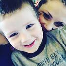 Ashely Grimm and her late son Titus (4) Photo: Facebook/ Ashley Grimm