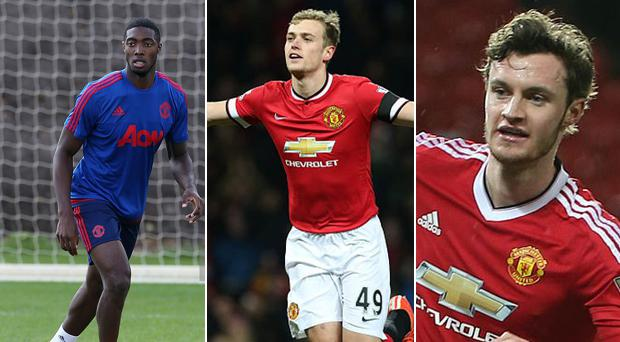 Tyler Blackett, James Wilson and Will Keane are all set to leave United
