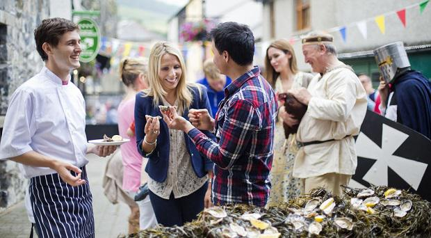 The Carlingford Oyster festival, Co. Louth