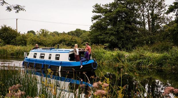 A Sallins Barge trip, Co. Kildare
