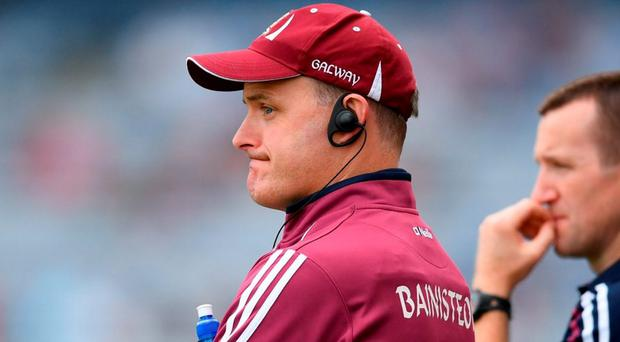 Micheál Donoghue feels Galway are in a good place heading into the clash with Davy Fitzgerald's men. Photo by Stephen McCarthy/Sportsfile