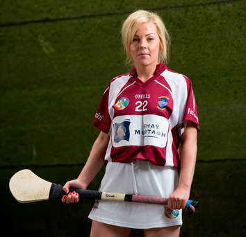 Dinah Loughlin: The Westmeath camogie player was named as a 'Soaring Star' in 2014. Photo: Inpho/Cathal Noonan