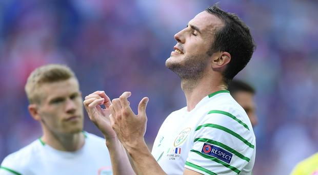 O'Shea is ready to remain available for selection as attention turns towards the start of the World Cup campaign in the autumn. Photo by Stephen McCarthy/Sportsfile
