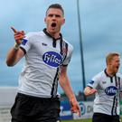 Dundalk's Ciaran Kilduff was with Shamrock Rovers when they qualified for the Europa League group stages. Photo by Paul Mohan/Sportsfile