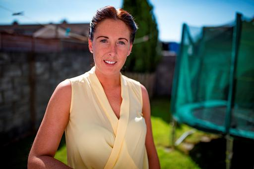 Paula Saul is in private rented accommodation and admits there's little hope of saving a mortgage deposit. Photo: Arthur Carron