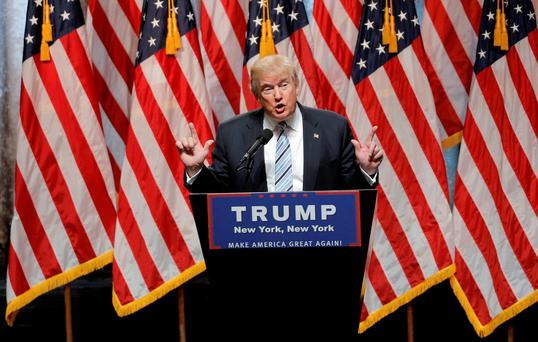 Donald Trump has secured The Republican Party's 2016 nomination for the White House. Photo: Reuters