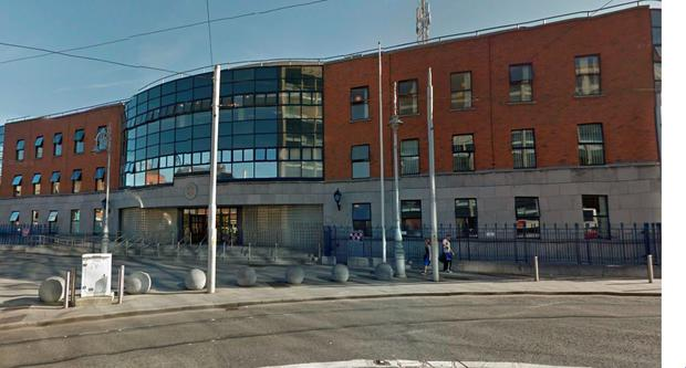 Store Street Garda station. Picture: Google Maps