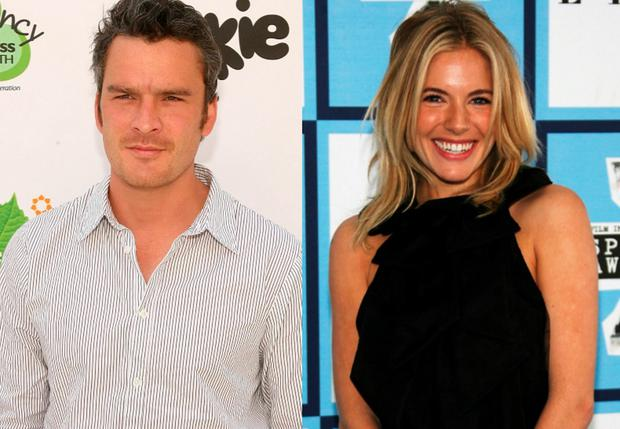 Balthazar Getty, left, and Sienna Miller, right, famously had an affair in 2008
