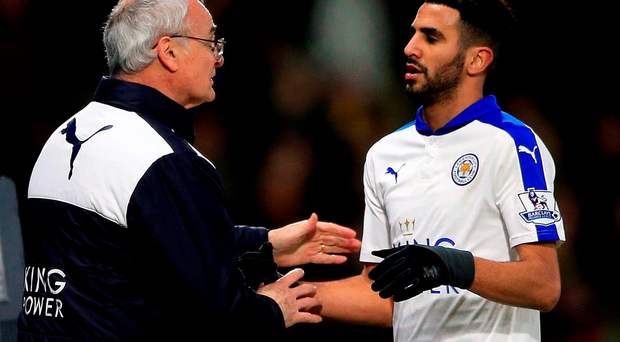 Leicester City manager Claudio Ranieri has said that Riyad Mahrez.
