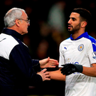 Leicester City manager Claudio Ranieri has said that Riyad Mahrez is going nowhere.