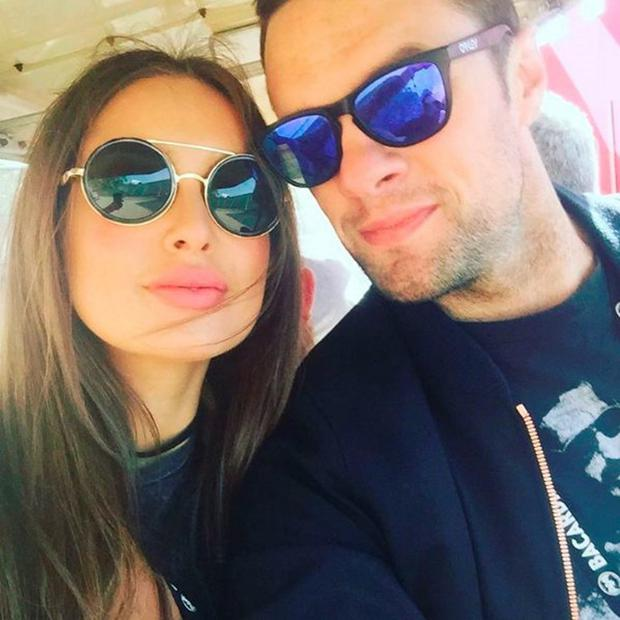 Roz Purcell and Bressie split earlier this year. Picture: Instagram