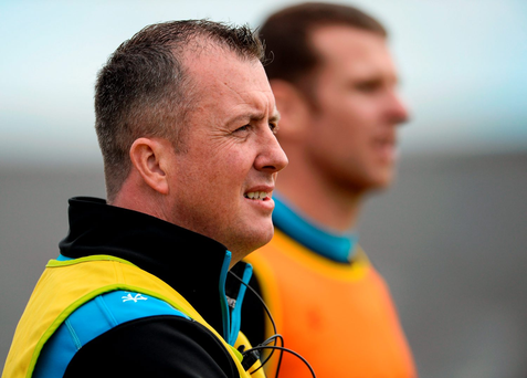 Sligo manager Niall Carew. Photo: Oliver McVeigh/Sportsfile
