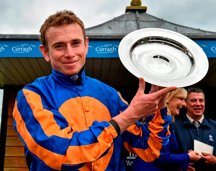 Ryan Moore: partners Churchill. Photo: Matt Browne / Sportsfile