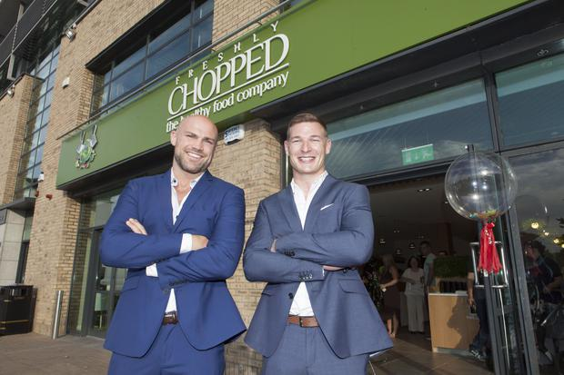 MMA star Cathal Pendred and Chopped co-founder Brian Lee