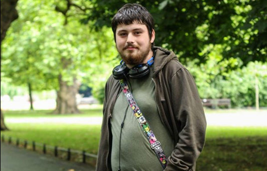 David Brennan has shed half a stone in one week from playing Pokemon Go. Photo: Lee Furlong / Humans of Ireland