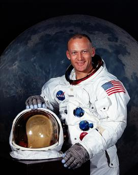 Buzz Aldrin was the second man to walk on the moon in 1969