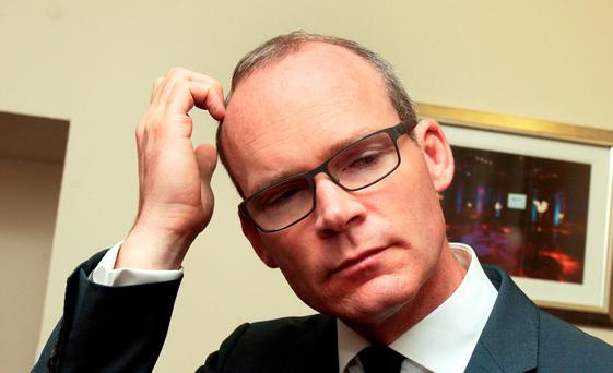 Simon Coveney has responsibility for water charges Picture: Tom Burke