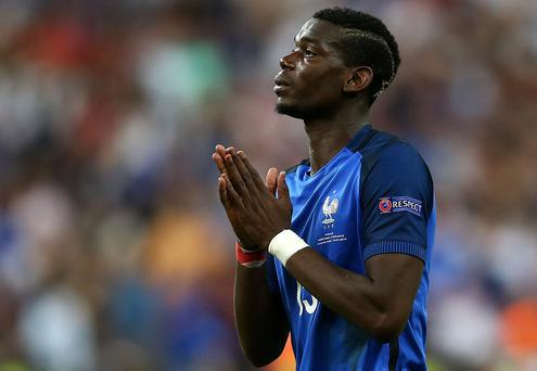 United are in pole position to sign Pogba and are prepared to smash the world transfer record to bring the France midfielder back to Old Trafford. Photo: Chris Brunskill