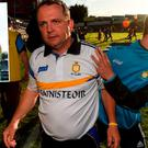 Davy Fitzgerald and (inset) Brendan Cummins
